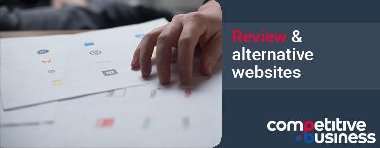 review alternative websites promote startup