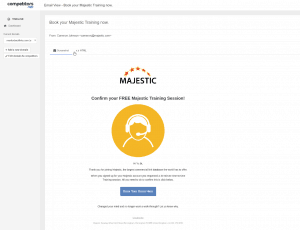 majestic email insights