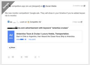 monitor competitors social media